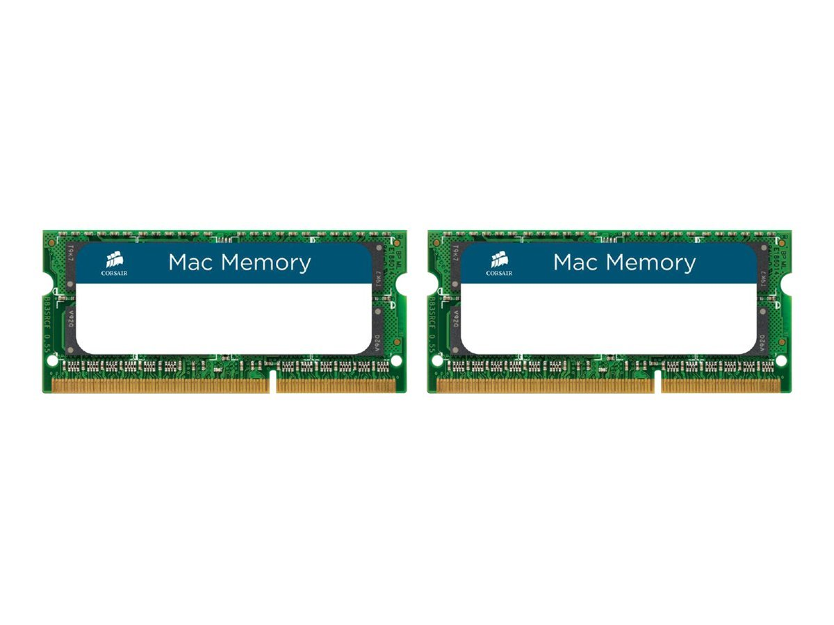 Corsair Mac Memory - DDR3 - 8 GB: 2 x 4 GB - SO DIMM 204-PIN - 1333 MHz / PC3-10666 - CL9