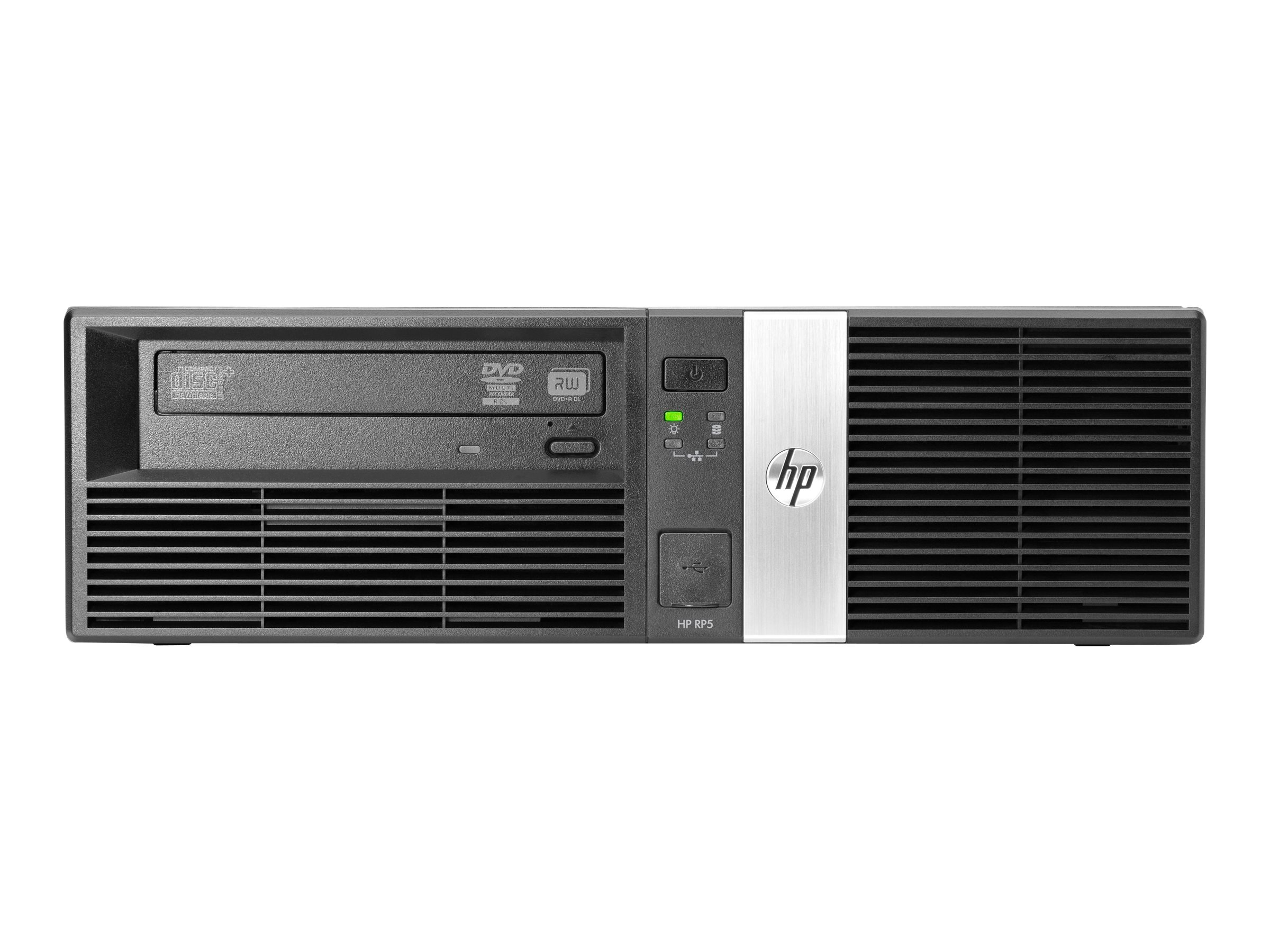 HP RP5 Retail System 5810 - DT - 1 x Core i5 4570S / 2.9 GHz - vPro - RAM 4 GB - HDD 500 GB