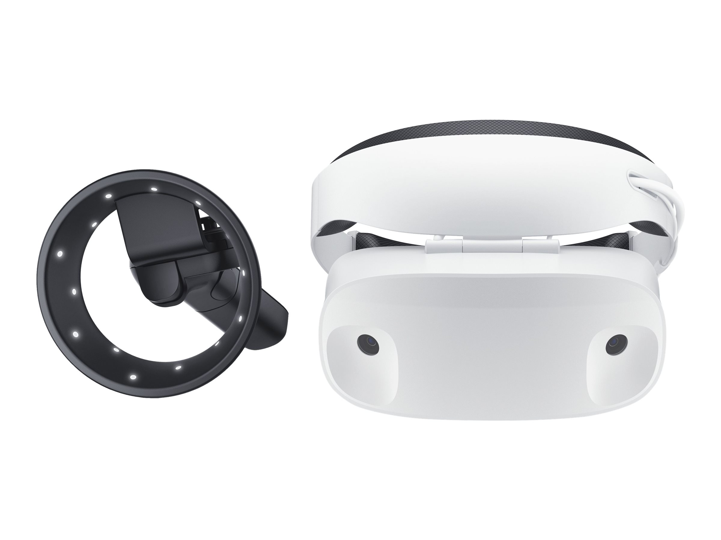Dell Visor with Controllers - Virtual-Reality-Headset - 7.3 cm (2.89
