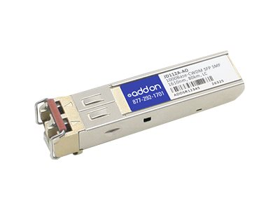 AddOn HP JD112A Compatible SFP Transceiver - SFP (mini-GBIC) transceiver module - GigE