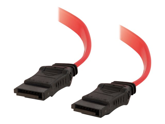 C2G 7-pin 180° 1-Device Serial ATA Cable