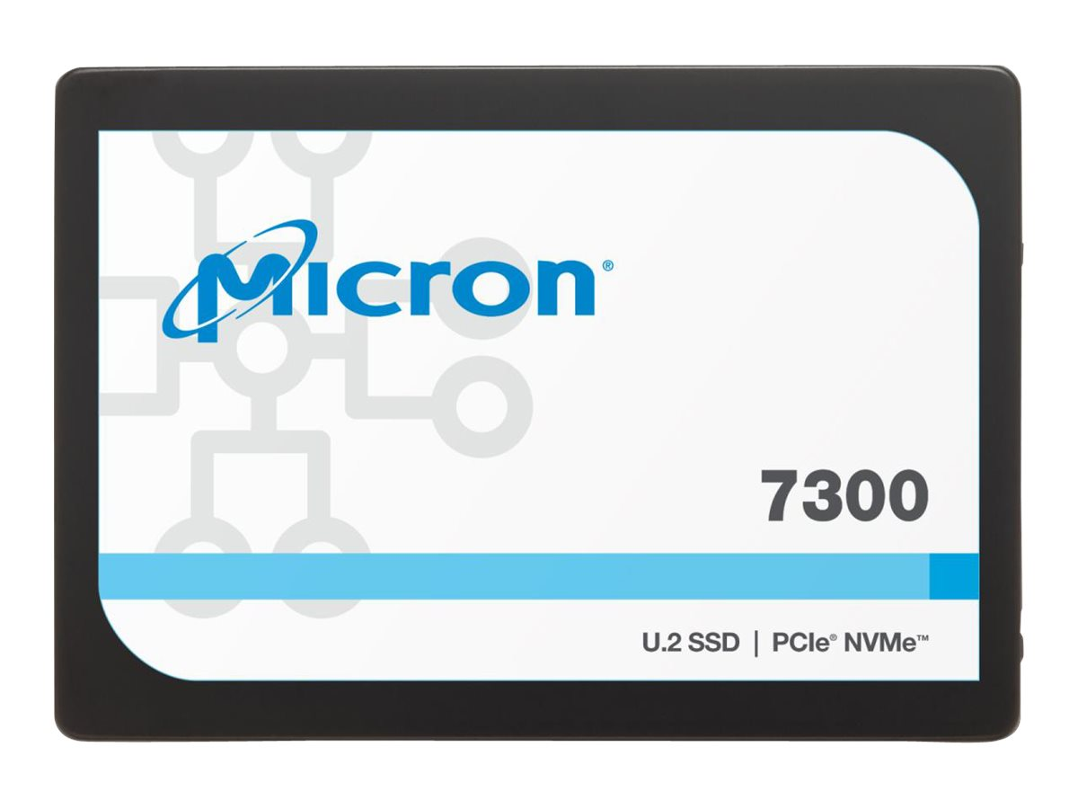 Micron 7300 PRO - solid state drive - 3.84 TB - U.2 PCIe 3.0 x4 (NVMe)