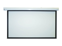 Metroplan Eyeline Pro electric screens - Projection screen - ceiling mountable, wall mountable - motorised - 100 in (254 cm) - 4:3 - Crisp Matte White - white powder coat