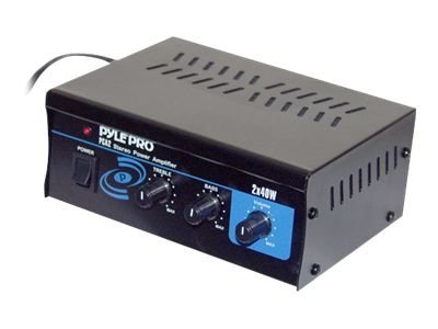 PylePro PCA2 Amplifier 80 Watt (total)