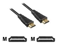 Sharkoon - HDMI-Kabel - HDMI Type A (M) bis HDMI Type A (M) - 5 m