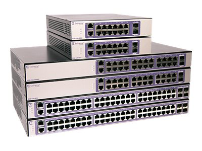 Extreme Networks ExtremeSwitching 210 Series 210-48p-GE4 - switch - 48  ports - managed - rack-mountable
