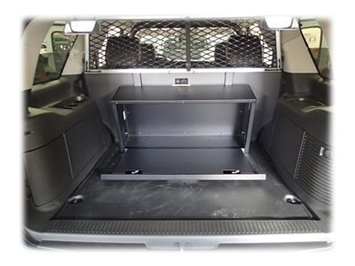 Havis C-SBX-101 Universal Storage box steel black powder coat car trunk