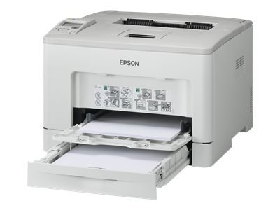 Epson WorkForce AL-M300DTN - Printer - monochrome - Duplex - laser - A4/Legal - 1200 dpi - up to 35 ppm - capacity: 550 sheets - USB 2.0, Gigabit LAN