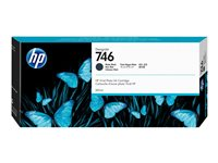 HP 746 300 ml matte black original DesignJet ink cartridge