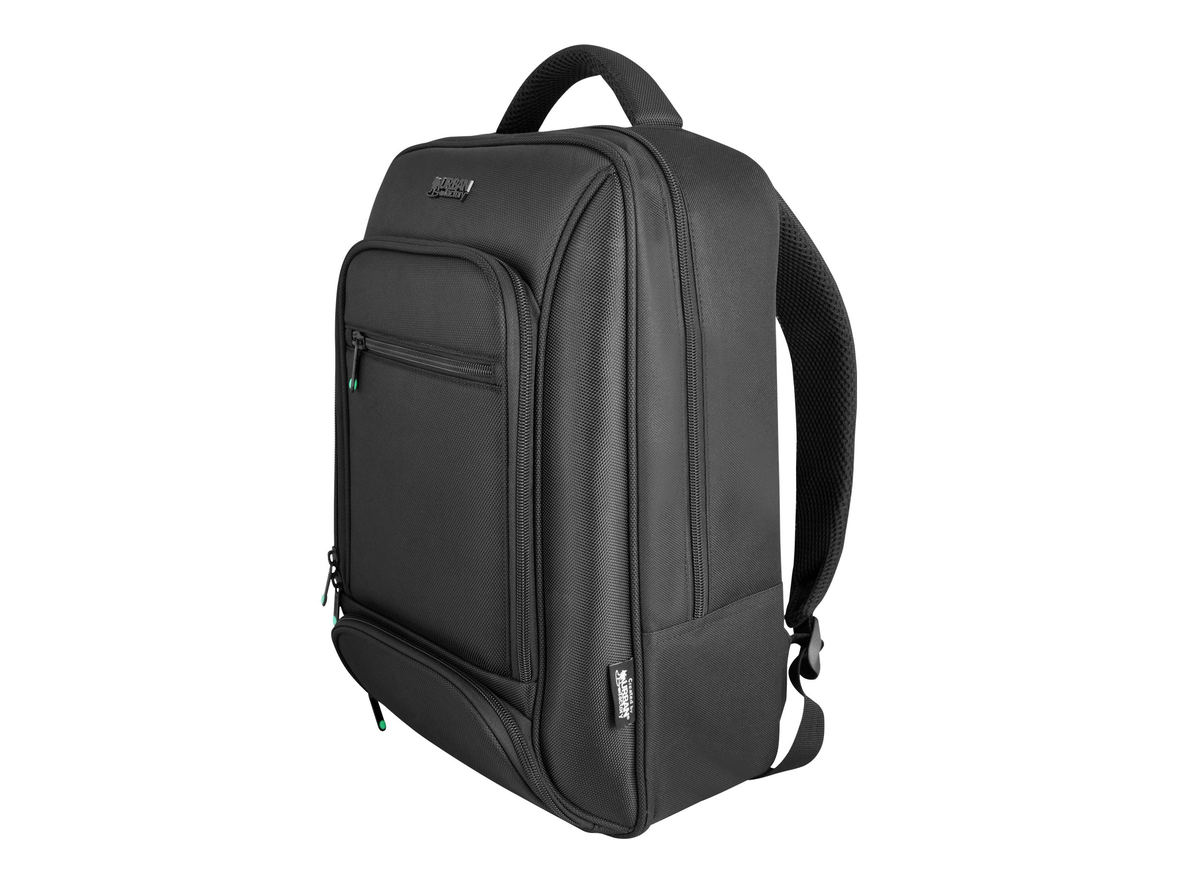 """Urban Factory Mixee Laptop Backpack 14.1"""" Black notebook carrying backpack"""