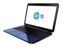 "HP 15-d075nr - A6 5200 / 2 GHz - Win 8.1 64-bit - 4 GB RAM - 500 GB HDD - DVD SuperMulti - 15.6"" 1366 x 768 (HD) - Radeon HD 8400 - revolution blue"