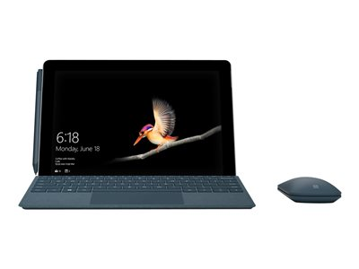 Microsoft TDSourcing Surface Go Signature Type Cover - keyboard - with trackpad, accelerometer - QWERTY - US - cobalt blue