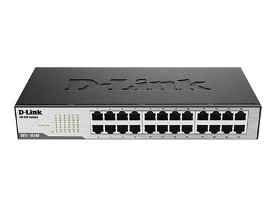 D-Link DES 1024D Switch 24-porte 10/100