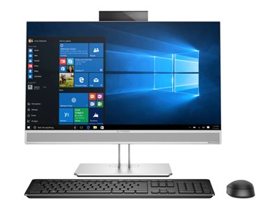 HP EliteOne 800 G4 All-in-one 1 x Core i7 8700 / 3.2 GHz RAM 16 GB SSD 256 GB
