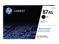 HP 87A - Noir - originale - LaserJet - cartouche de toner (CF287AS) - pour LaserJet Managed E50045; LaserJet Managed Flow MFP E52545