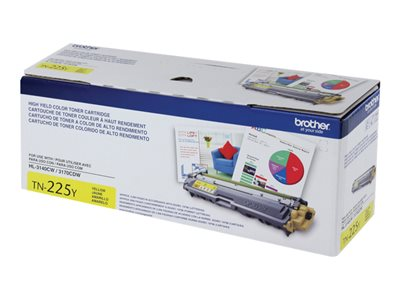 Brother TN-225Y High Yield yellow original toner cartridge