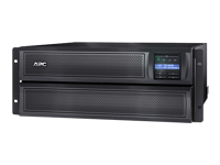 APC Smart-UPS X 3000 Rack/Tower LCD - UPS (rack-mountable / external) - AC 230 V - 2700 Watt - 3000 VA - RS-232, USB - output connectors: 10 - 4U - black