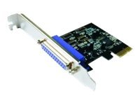 M-CAB PCIe Parallel Card - Parallel-Adapter - PCIe - IEEE 1284