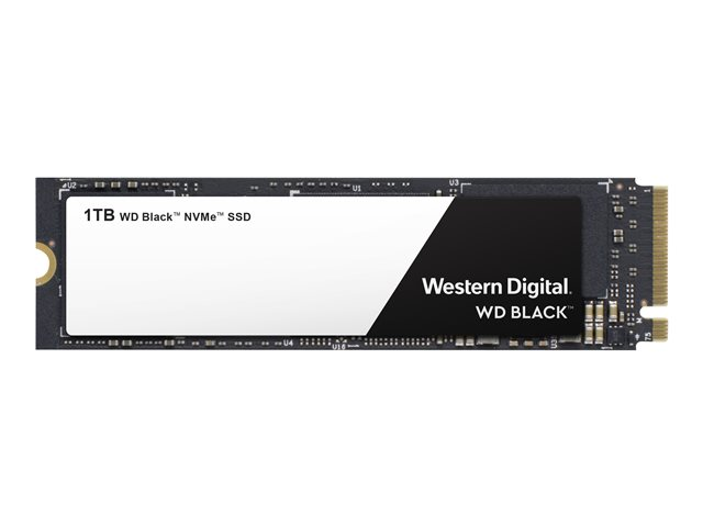WD Black NVMe SSD WDS100T2X0C - Disque SSD - 1 To - interne - M.2 2280 - PCI Express 3.0 x4 (NVMe)