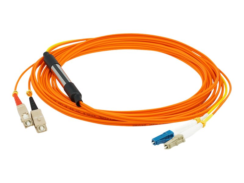AddOn 5m LC to SC OM1 & OS1 Mode Conditioning Cable - mode conditioning cable - 5 m - orange