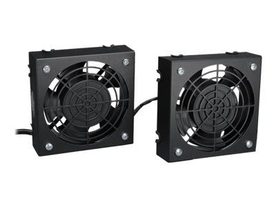 Tripp Lite Wallmount Rack Enclosure Cooling Roof Fan Kit 120V 5-15P rack fan kit