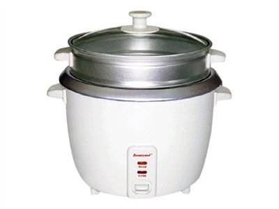 Brentwood TS-600S Rice cooker/steamer 1.1 qt
