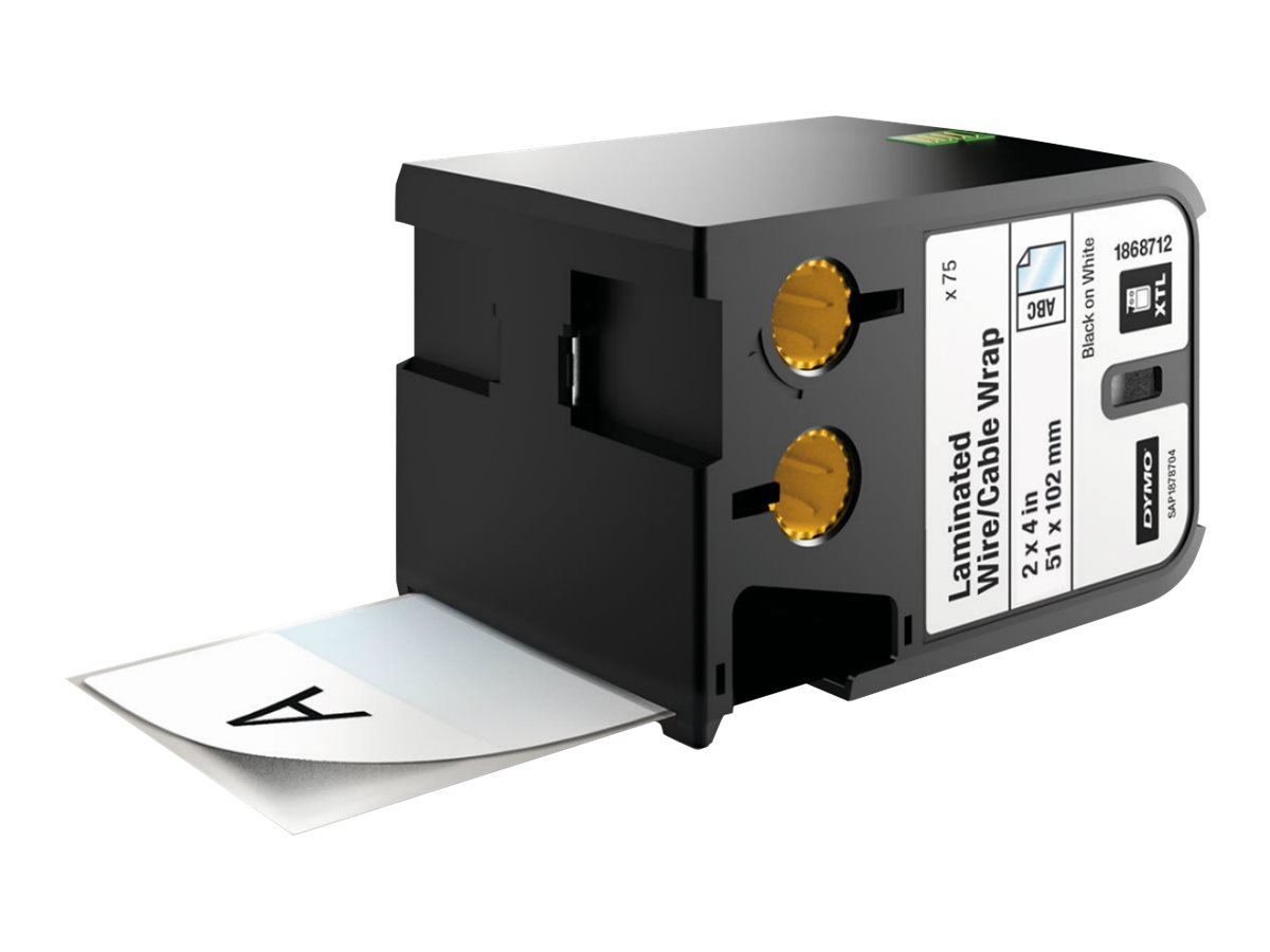 DYMO XTL - laminated labels - 70 label(s) - 51 x 102 mm