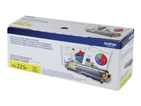 Brother TN225Y High Yield yellow original toner cartridge