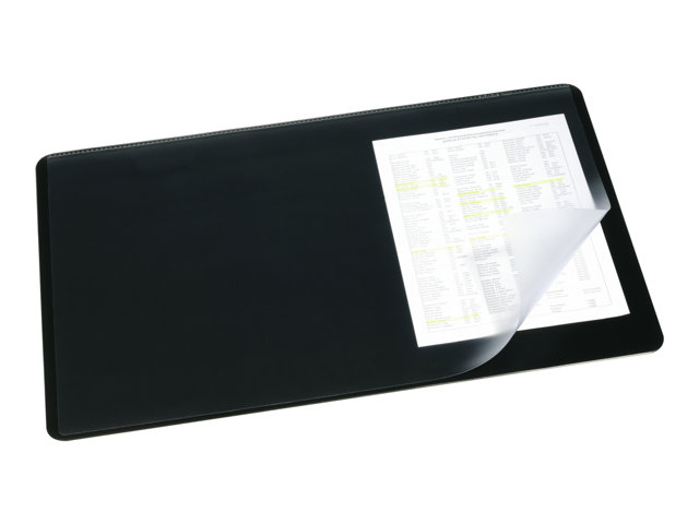Image of DURABLE desk pad with transparent overlay