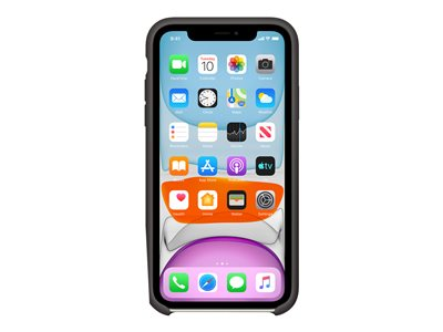 Apple iPhone 11 Silicone Case czarny