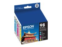 Epson 98 Multi-Pack 5-pack High Capacity yellow, cyan, magenta, light magenta, light cyan