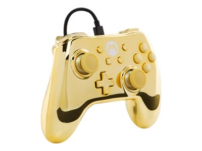 Gold Chrome Mario