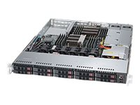 Supermicro SuperServer 1028R-WC1R - rack-mountable - no CPU - 0 GB