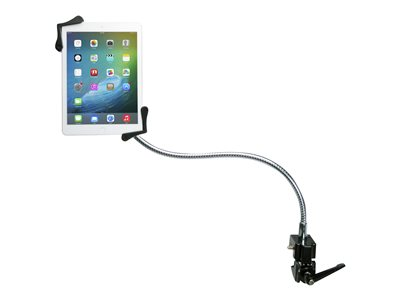 CTA Heavy-Duty Gooseneck Clamp Stand Stand for tablet rubber, steel scree