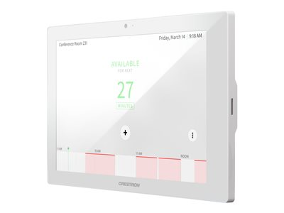Crestron Room Scheduling Touch Screen TSS-10-W-S image