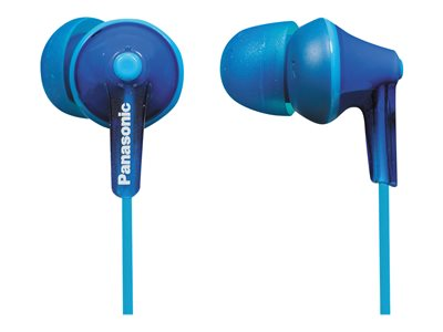 Panasonic RP-HJE125 Ergofit earphones in-ear wired 3.5 mm jack blue