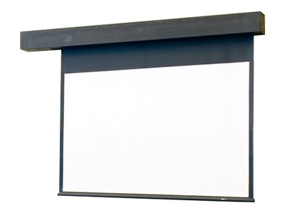 Draper Rolleramic HDTV Format Projection screen ceiling mountable, wall mountable motorized