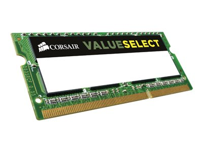 CORSAIR Value Select DDR3L  8GB 1600MHz CL11  Ikke-ECC SO-DIMM  204-PIN