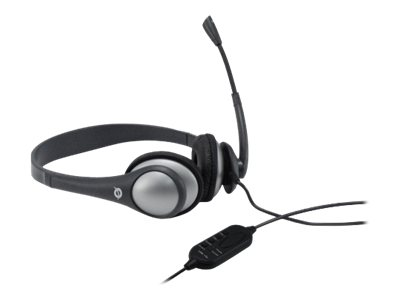 Conceptronic Lounge Collection CEASYSTARU USB Entry Level Headset - Headset - Full-Size - Grau