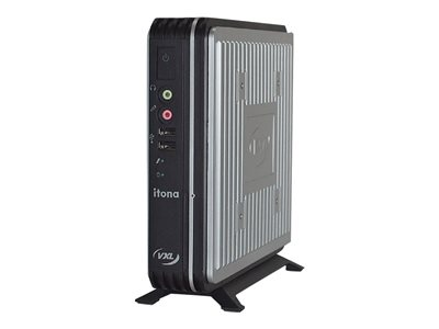 VXL Itona IQ-B44 Thin client USFF 1 x Celeron J1900 / 2 GHz RAM 8 GB flash 32 GB