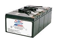 ABC RBC8 UPS battery 4 x lead acid 7.5 Ah