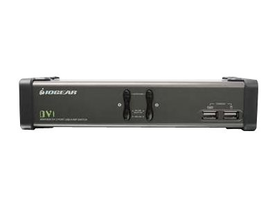 IOGEAR GCS1102 - KVM / audio / USB switch - 2 ports