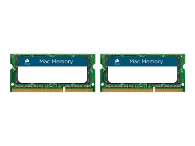CORSAIR Mac Memory DDR3  8GB kit 1333MHz CL9  Ikke-ECC SO-DIMM  204-PIN