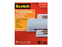 Scotch 100-pack clear 226 x 292 mm lamination pouches
