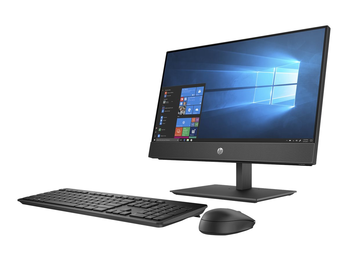 "HP ProOne 600 G5 - all-in-one - Core i5 9500 3 GHz - 8 GB - 256 GB - LED 21.5"" - US"