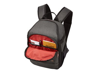 Case Logic Era Small backpack for camera / drone polyester, melange fabric obsidian -