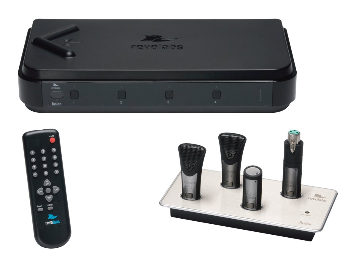 Revolabs Fusion 4 Channel - wireless microphone system