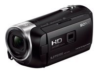 Sony Handycam HDR-PJ410 - Camcorder with projector - 1080p - 2.51 MP - 30x optical zoom - Carl Zeiss - flash card - Wi-Fi, NFC - black