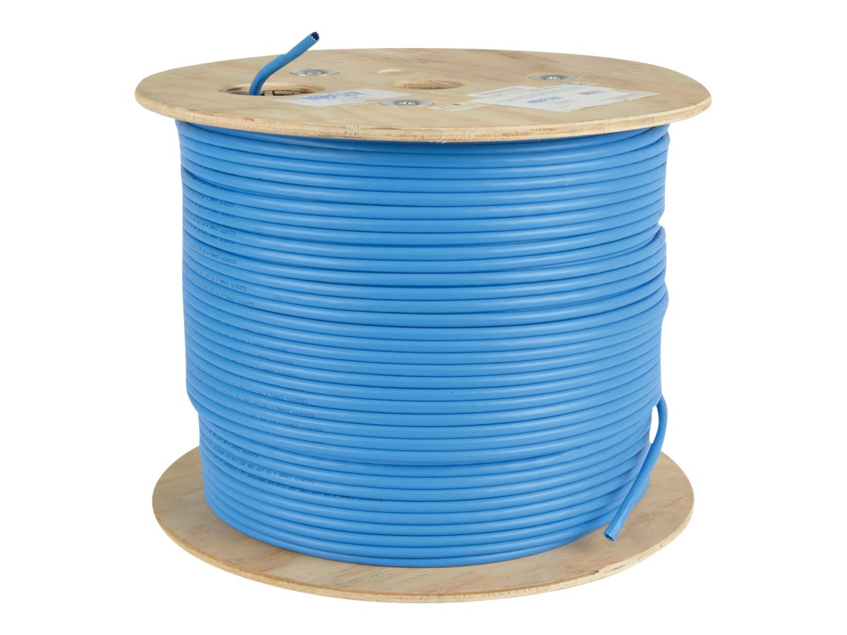 Tripp Lite 1000ft Cat6 Cat6a 10g Bulk Cable Solid Core Cmr Pvc Wiring Zones Contact Your Account Executive Or Call 8004089663