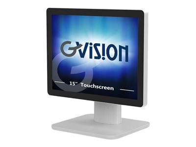 GVision D Series D15 LED monitor 15INCH touchscreen 1024 x 768 300 cd/m² 700:1 8 ms